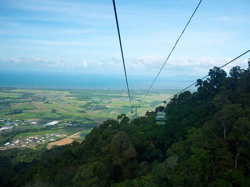 The Skyrail from Kuranda down to Cairns