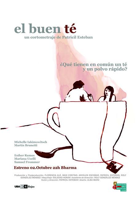 Cartel del cortometraje el buen te