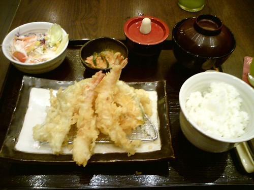 2010-09-11 普吉Yayoi 天婦羅套餐DSC01404
