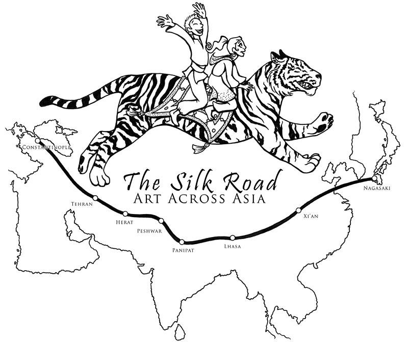 silk road shirt