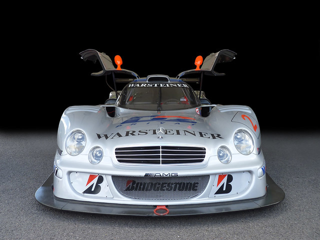 The Mercedes-Benz CLK GTR is a grand tourer and race car that was built by