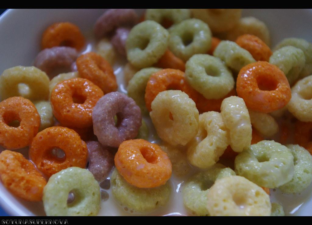 Cereales de colores :)