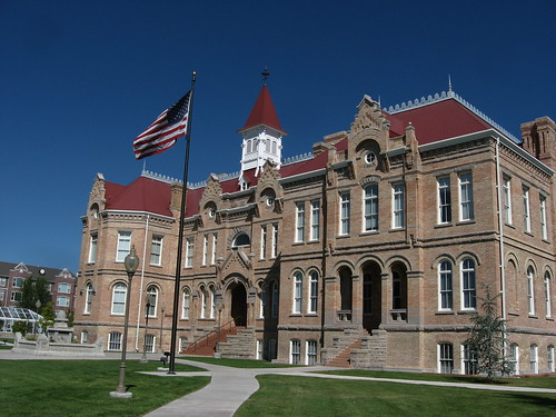 Historic Brigham Young Academy (Now Provo City Library), Provo, Utah