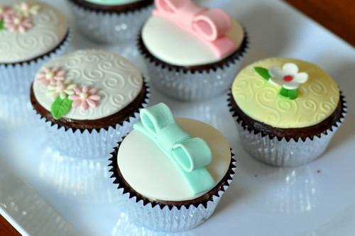 Spring Theme Cupcakes