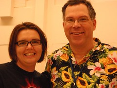 Emily Papel & Mark Monlux at Jet City Comic Show 2010
