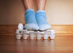 Bench Monday: Lucky 13 edition...270/365 (~ cynthiak ~) Tags: selfportrait eggs 365 13 eggcarton selfie hbm trp howlowcanyougo benchmonday fgr20