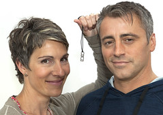 Tamsin Greig and Matt Le Blanc support 10:10