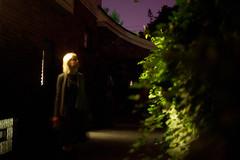 271 (lisbokt) Tags: nightphotography portrait woman selfportrait lady female night self project outdoors 50mm autoportrait plasticfantastic blond blonde 365 dailyphoto purplesky fantasticplastic project365 niftyfifty portraitofself portraitofmyself fiftynifty