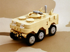 """   (Mechanekton) Tags: lego military vehicle apc cyberpunk idf boilerplate"