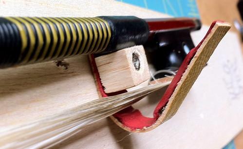 Calder violin bow holder 2.0 model 1o