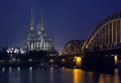 Cologne Cathedral (-Siep-) Tags: germany deutschland nightshot cologne kln duitsland nachtaufnahme colognecathedral keulen mywinners