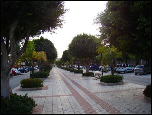 Calles de la Cala de Mijas