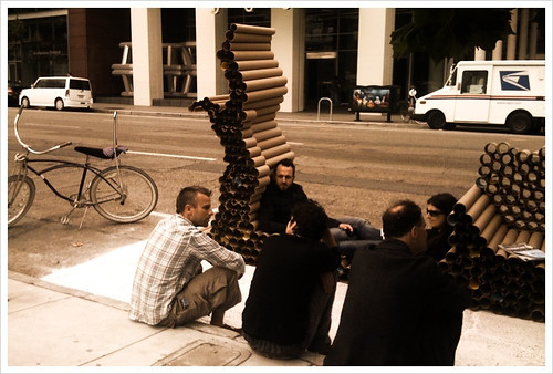 Scenes from park(ing) day