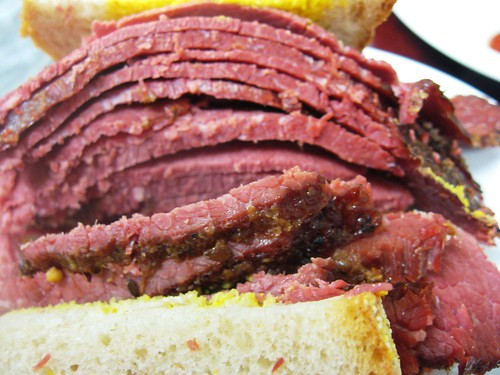 Lean Smoked Meat Sandwich