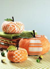 Patchwork Pumpkins por Retro_Mama