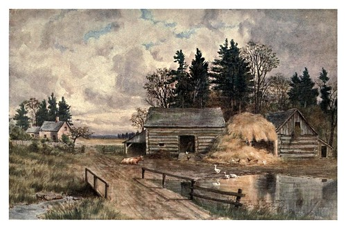 001-Antigua granja en New Brunswick-Canada-1907- Thomas Martin Mower