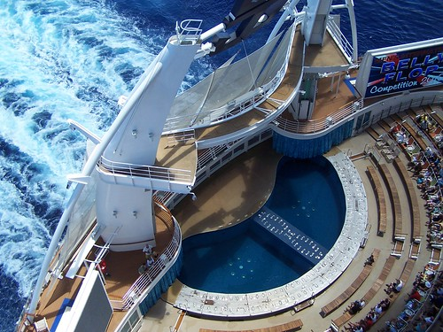 Oasis of the Seas Aqua Theater from Waaay Up by Paul Dickerson