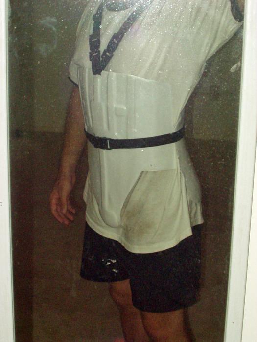 Stormtrooper strap system test