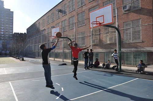Ditmas Park Basketball Players 2010
