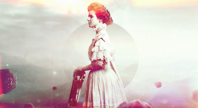 Благородная светская дама