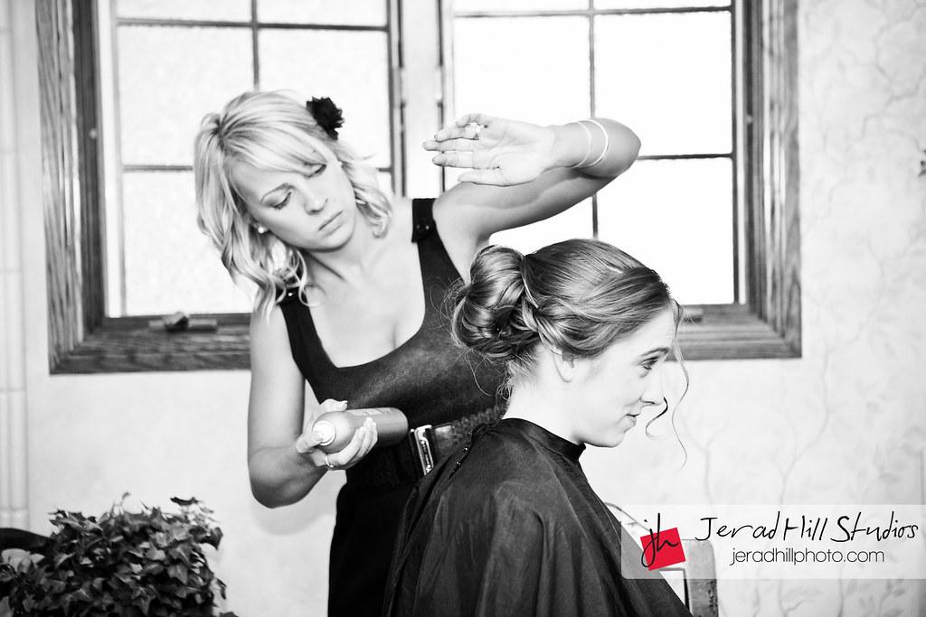 Bridal hair photo