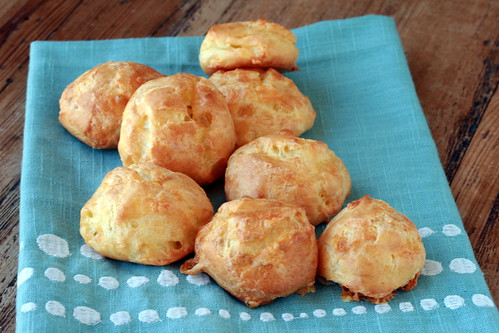 Gougeres - French Fridays with Dorie