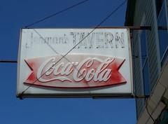 OH Cleveland - Jerman's Tavern (scottamus) Tags: old ohio sign vintage soft cola drink cleveland coke pop plastic tavern soda coca cuyahogacounty jermans