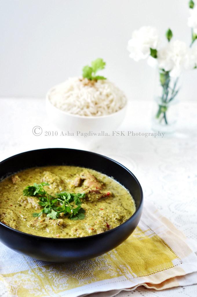 Coriander Chicken Kurma