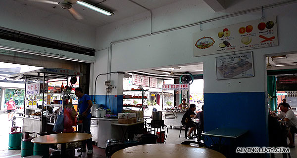 Siew Kian and I had lunch here on our first day in Penang