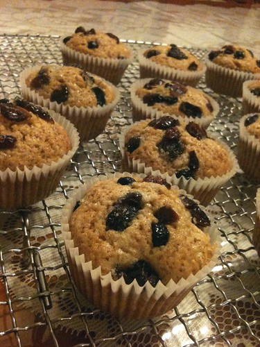 Whole Wheat Berry Muffins | From Cass with Love