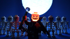 lord pumpkin, join me (Legoagogo) Tags: halloween lego moc afol