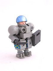 Suit (Mechanekton) Tags: grey lego military suit moc powersuit hardsuit mechsuit