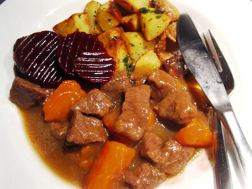 Kalops or Swedish Beef Stew with allspice
