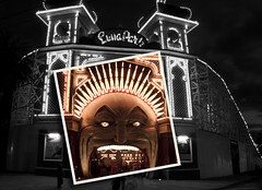 L u n a  P a r k (TahmTahm) Tags: colour melbourne amusementpark lunapark editing selectivecolour