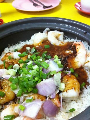 Claypot Prawn Rice