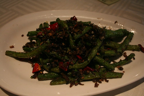 2010-10-05 - Shanghai - Soofish restaurant - 02 - Peppered greens