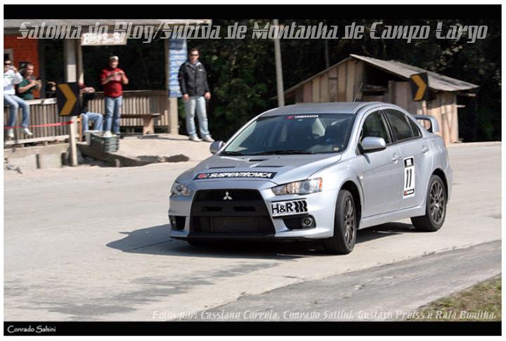 Mitsubishi Evo X_Bruno Mesquita_Subida Montanha Campo Largo #2010