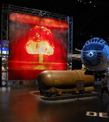 National Museum of the United States Air Force - One Nuclear Bomb... (jlaux42) Tags: ohio museum nikon explosion nuclear airforce bomber bombs atomic dayton atomicbomb nuclearbomb b36 wrightpatterson daytonohio d40 b36j nationalmuseumoftheunitedstatesairforce 18105vr