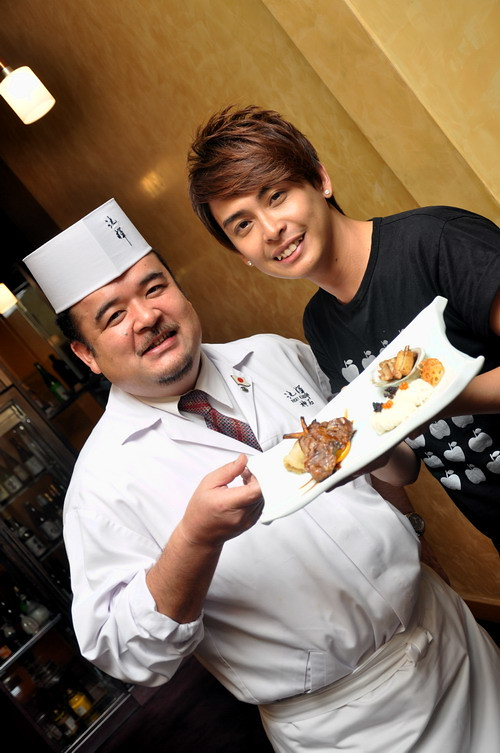 HoJiak host & Chef Ricky Kamiishi