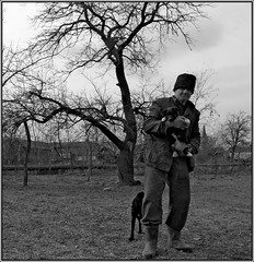 Untitled (Dushan B. Hadnadjev [slowly back]) Tags: life light portrait people man art love face eyes hands photographer village time shepherd spirit serbia documentary social soul balkans portret srbija  dushan  dushanhadnadjev