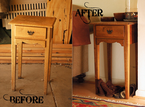 Before After Little Table1
