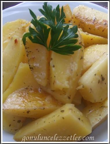 baharatlı patates