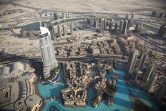 Amazing view from the top of the Burj Khalifa! (yuggy15) Tags: dubai burj amazingview tallesttower tallesttowerintheworld burjkhalifa