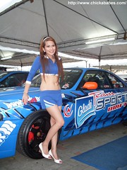 Gwyneth Ceridwen (ChickaBabes.com) Tags: cute girl beautiful asian promo cruz filipina gwen dela carshow glade motorshow gwynet