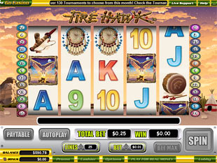 Fire Hawk slot game online review