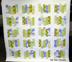 Autumn Meadows quilt (tell tale threads) Tags: heatherbailey whitesashing kaffefassette autummeadow