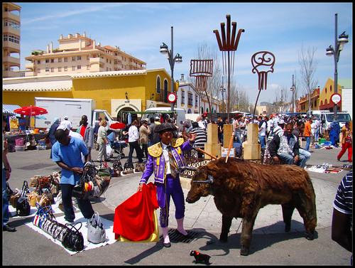 Curioso Torero en Fuengirola