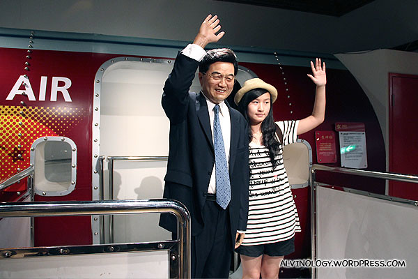 Current Premier of the State Council of the People's Republic of China, Wen Jiabao (温家宝)