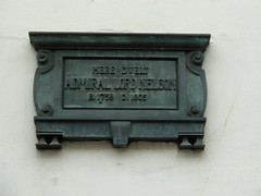 Photo of Horatio Nelson bronze plaque