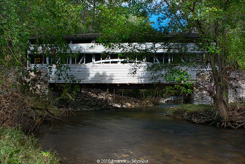 Knox-Valley Forge Covered Bridge (Down Creek) hdr 02